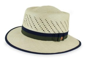 mens straw hats - gambler style - panama straw hat