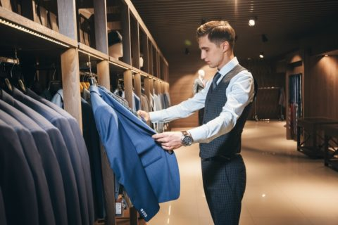 Here is how to determine the proper size suit to buy - tips for sizing a new suit.