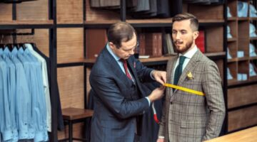 Suit Jacket Sizing: Measurements To Prevent Having Too Much Gap Between Your Chest And The Lapels