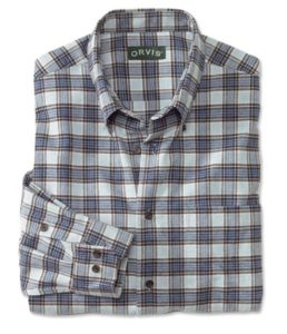 Orvis mens flannel shirts - available in many colors