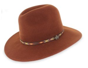 mens felt hat - safari wool felt hat