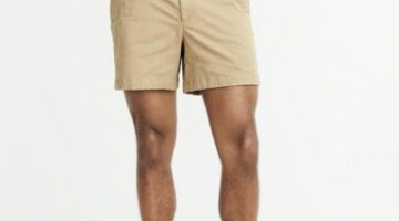 Abercrombie and Fitch 'shorter' mens shorts
